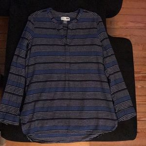 Women's Old Navy long sleeve Tunic size L